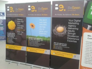 BeSeen Marketing at the Wycombe Business Expo