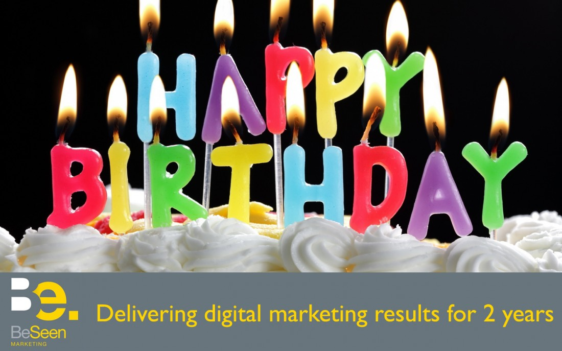 Happy Birthday BeSeen Marketing