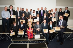 Anyone who is anyone was there at the Bucks UTC Annual Awards Evening.